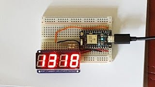 A Simple LED Clock using Particle Photon