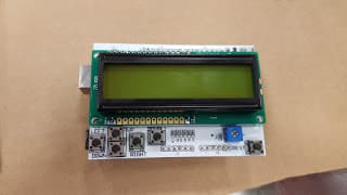 LCD Button Shield V2 for Arduino by Sparkfun
