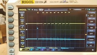 Syncing Oscilloscope To Interrupt Activity