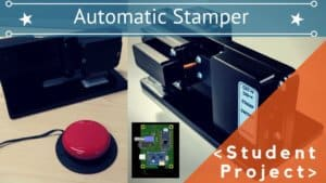 AUTOMATIC STAMPER WITH AN ADAFRUIT PRO TRINKET