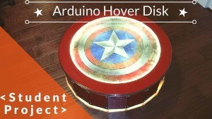 Arduino hover disk