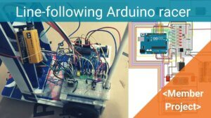 ARDUINO LINE FOLLOWING ROBOT FOR THE SCIENCE OLYMPICS