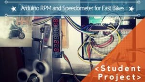 ARDUINO RPM AND SPEEDOMETER FOR FAST BIKES (OR CARS)