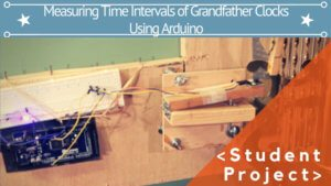 MEASURING THE TIME INTERVAL CYCLE FOR THE PENDULUM ON LARGE GRANDFATHER CLOCKS USING ARDUINO