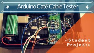 ARDUINO CAT6 CABLE TESTER