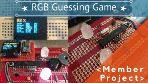 ARDUINO RGB GUESSING GAME
