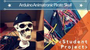 Arduino animatronic pirate skull