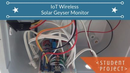IOT Wireless Monitoring with the ESP 8266 and ThingsSpeak
