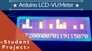 ARDUINO WITH LCD-VU-METER
