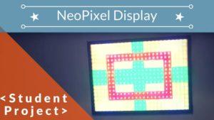 Arduino sound to light neopixel display (450 neopixels!)
