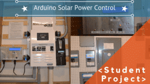 ARDUINO SOLAR POWER CONTROL SYSTEM
