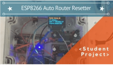 ESP8266 AUTO ROUTER RESETTER
