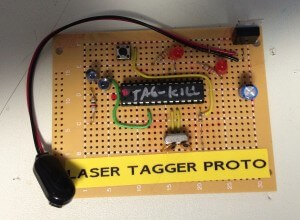 Arduino laser tag project rejects