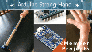 ARDUINO STRONG-HAND (SCARY MOVIE 2 TRIBUTE)